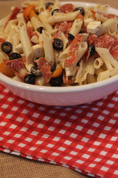 Pizza Pasta Salad-