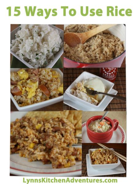 15 Ways To Use Rice