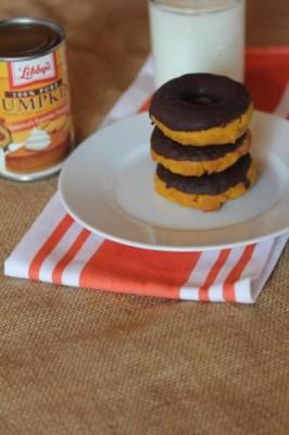Gluten Free Pumpkin Doughnuts-