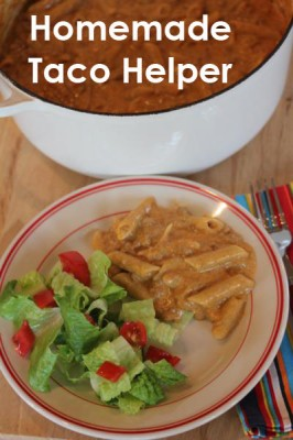 Homemade Taco Helper