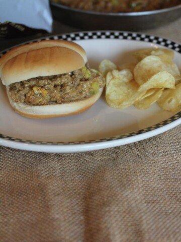 Cheeseburger Sloppy Joes