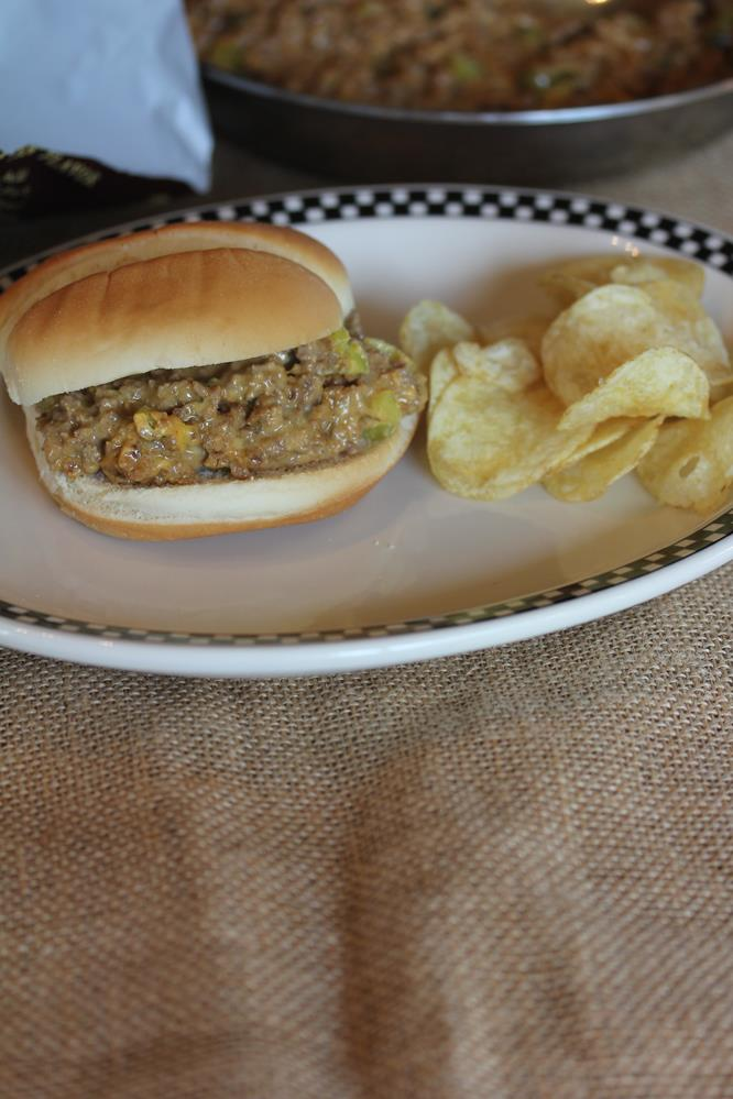 Cheeseburger Sloppy Joes