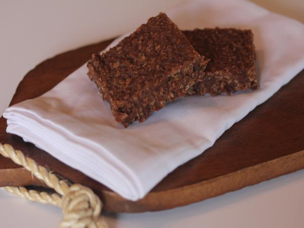 Chocolate Coconut No Bake Bars