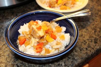Evies Crock Pot Hawaiian Chicken-