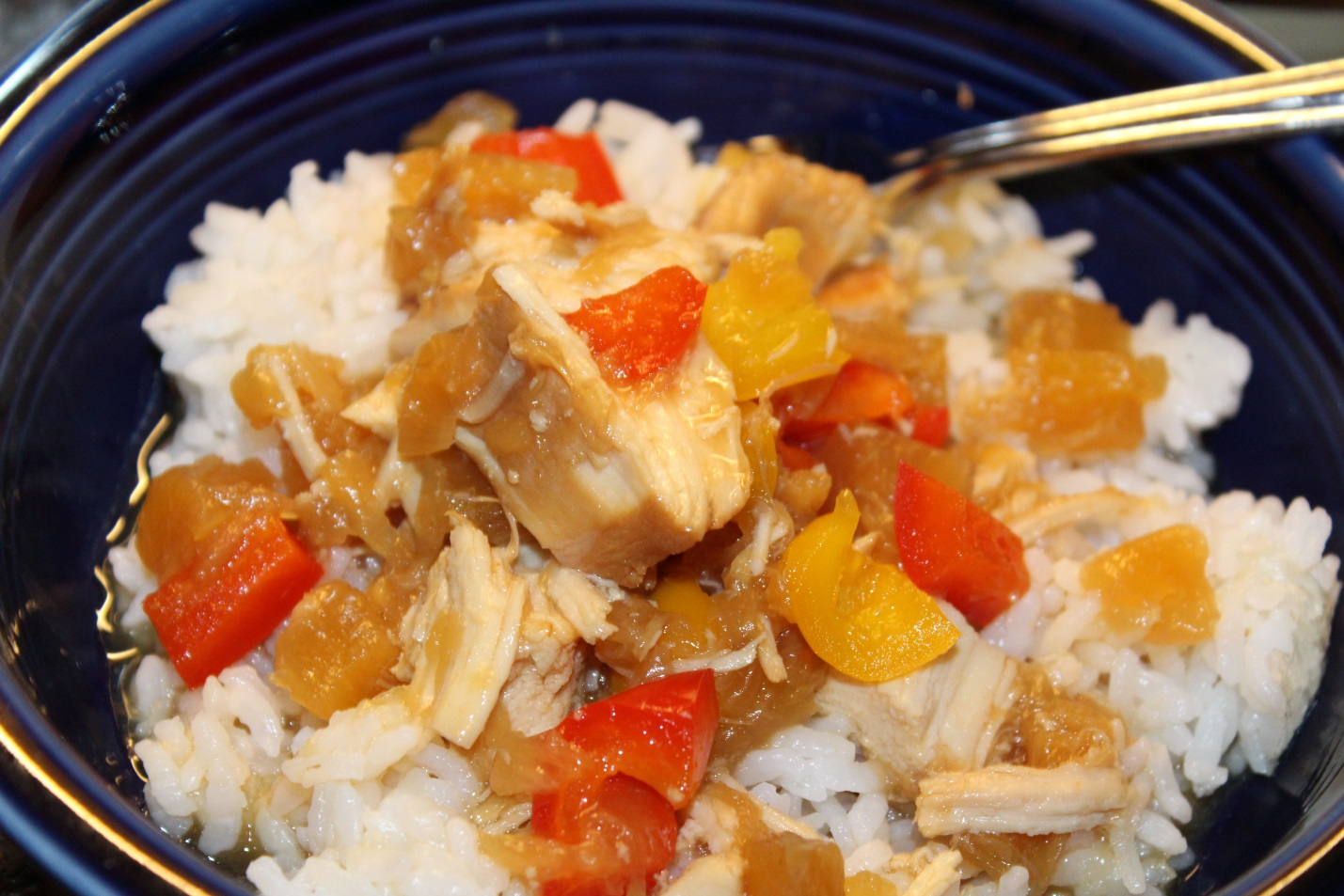 Evie's Slow Cooker Hawaiian Chicken