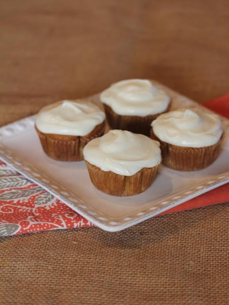 Gluten Free Carrot Cake Cupcakes