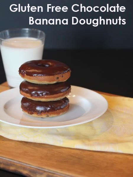 Gluten-Free Banana Doughnuts Recipe — Dishmaps
