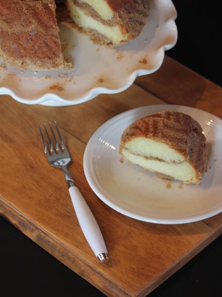 Gluten Free Cinnamon Streusel Coffee Cake-