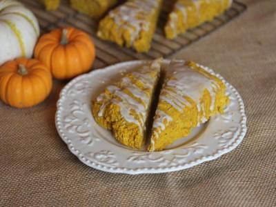 Gluten Free Pumpkin Scones_