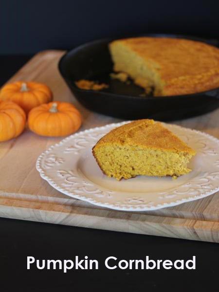 Pumpkin Cornbread - Lynn's Kitchen Adventures