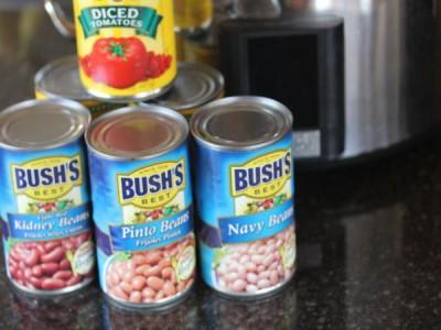 Slow Cooked Three Bean Chili_