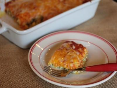 Breakfast Chili Relleno Casserole--