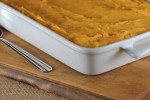 Creamy Double Mashed Potato Bake