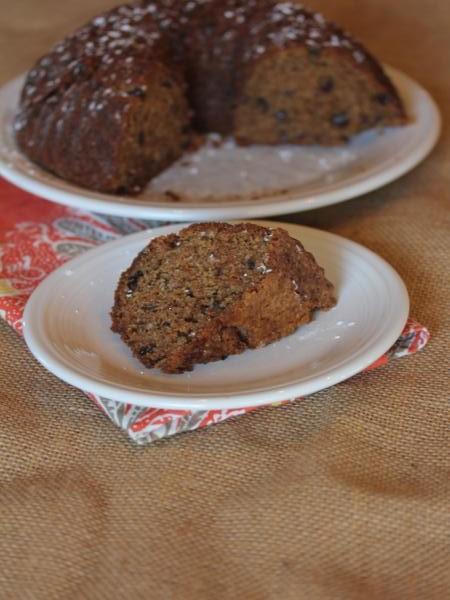 Gluten Free Spiced Prune Cake-