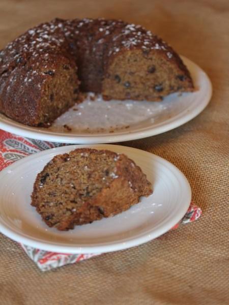 Gluten Free Spiced Prune Cake from LynnsKitchenAdventures.com