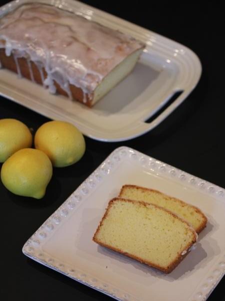 gluten free lemon pound cake _