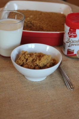 Biscoff Baked Oatmeal