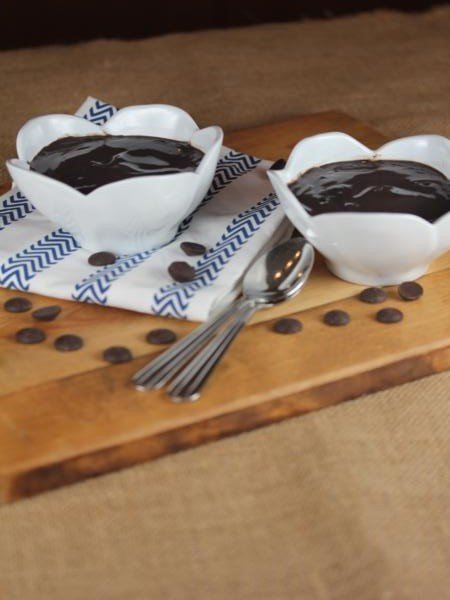 Double Dark Chocolate Pudding