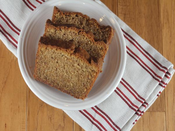 gluten free gingerbread cake-