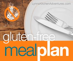 Gluten Free Menu Plan {August 31st – September 6th}