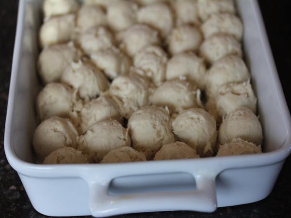 gluten free monkey bread dough