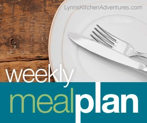 Menu Plan {August 31st – September 6th}