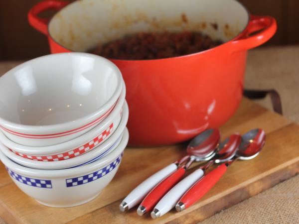 Bacon Chili from LynnsKitchenAdventures.com