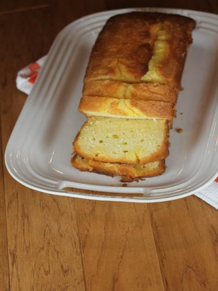 Gluten Free Clementine Loaf Cake