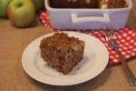 Gluten Free Applesauce Coffee Cake
