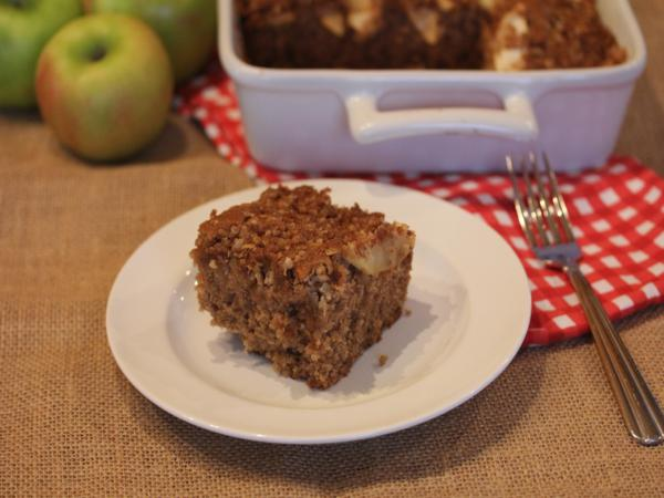 gluten free apple coffee cake