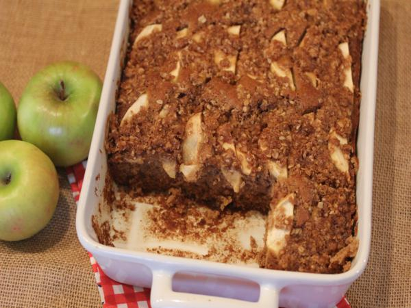 gluten free apple coffee cake_