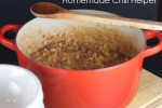 Homemade Chili Hamburger Helper from LynnsKitchenAdventures.com
