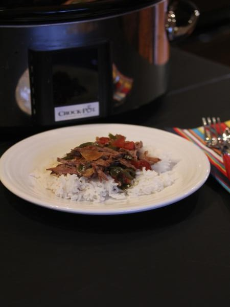 slow cooked pepper steak_