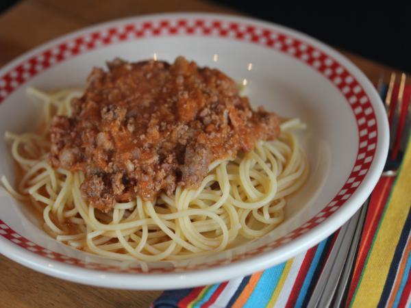 spaghetti bolognese_