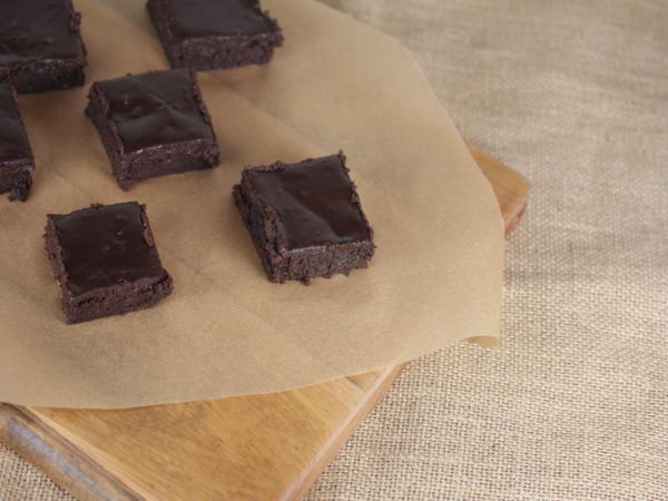 Everyday Flourless Chocolate Brownies_