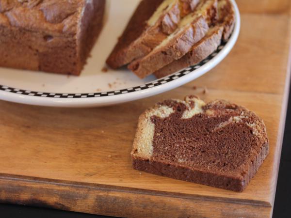 Gluten Free Chocolate Marble Bread-