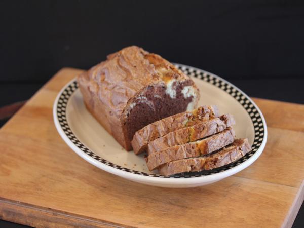 Gluten Free Chocolate Marble Bread