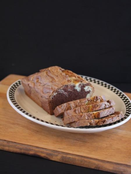 Gluten Free Chocolate Marble Bread_