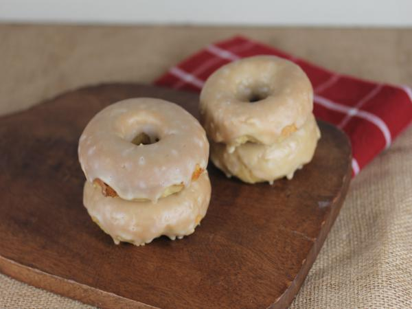 Gluten Free Maple Bar Doughnuts_