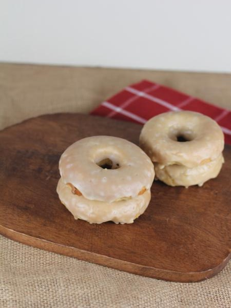 Gluten Free Maple Bar Dounghnuts -