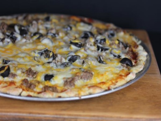 Hamburger Pizza-