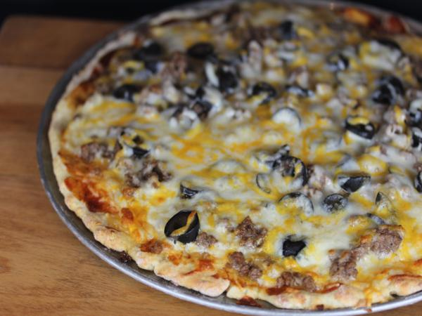 Hamburger Pizza _