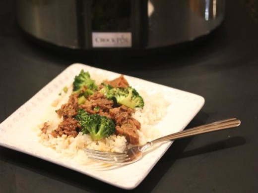 Slow Cooked Broccoli Beef