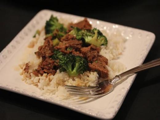 Slow Cooked Broccoli Beef_