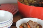 Venison Stew from LynnsKitchenAdventures.com
