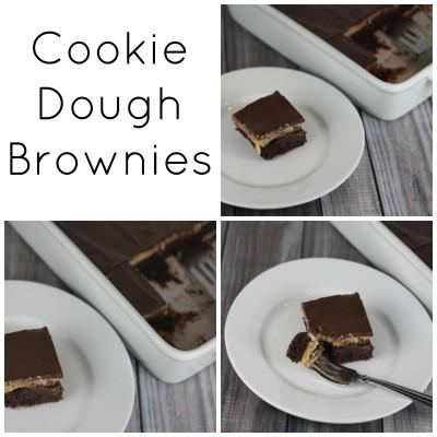 Cookie Dough Brownies _