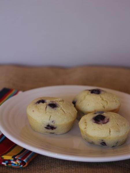 Gluten Free Blueberry Pancake Muffins