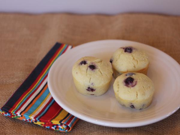 Gluten Free Blueberry Pancake Muffins_