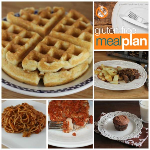 Gluten Free Menu Plan 3-23