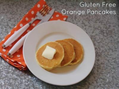 Gluten Free Orange Pancakes